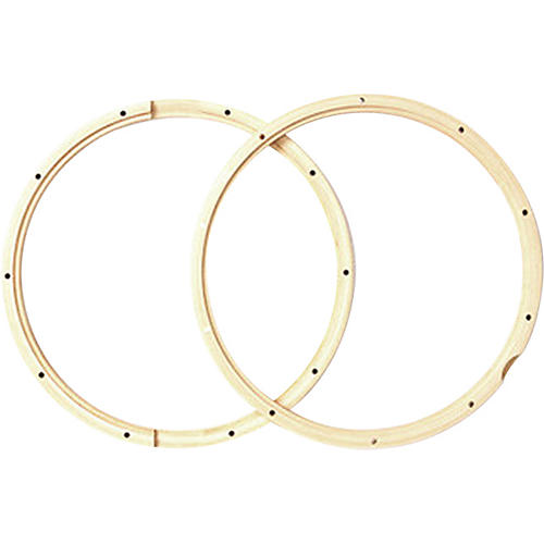 PDP by DW 10 Lug Pair - Wood Snare Hoops-thumbnail