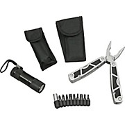 American Recorder Technologies 10-in-1 Multi-Tool + 9-LED Flashlight