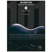 Hal Leonard 101 Bass Tips of the Pros (Book/CD)