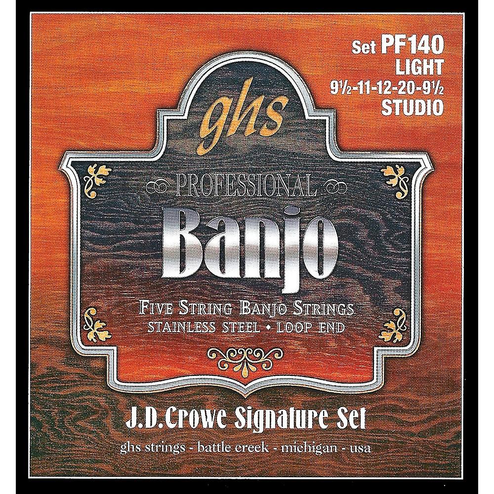 GHS J.D. Crowe Studio Signature 5-String Banjo Strings Light