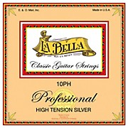 LaBella 10PH Professional High Tension Silver Classical Guitar Strings