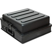 SKB 10U Slant Mixer Case with Hardshell Top