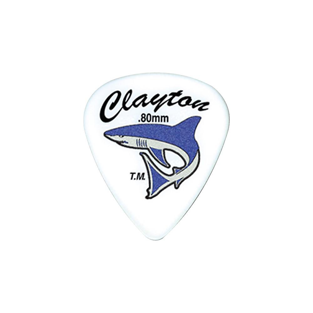 Clayton Sand Shark Acetal Grip Guitar Pick 6-Pack .50mm