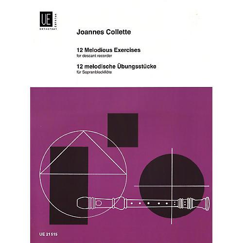 Theodore Presser 12 Melodic Studies (Book)
