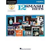 Hal Leonard 12 Smash Hits for French Horn - Instrumental Play-Along Book/CD