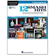 Hal Leonard 12 Smash Hits for Trombone - Instrumental Play-Along Book/CD