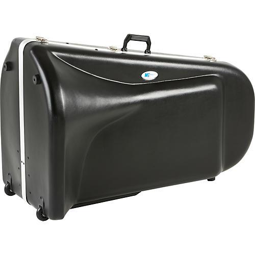 MTS Products 1203V Large Frame Top Action Tuba Case Black