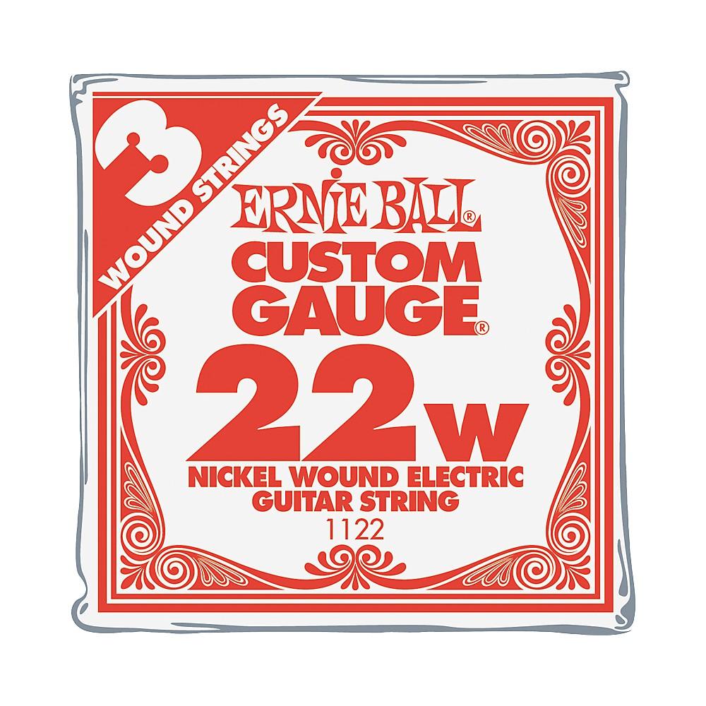 Ernie Ball Nickel Wound Single Guitar Strings 3-Pack .022 3-Pack