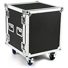 "Eurolite 12U 19"" Rack Mount Amp Case w/Casters"