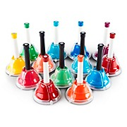 Rhythm Band 13-Note Hand/Desk Bell Set