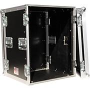 "Eurolite 14U 19"" Rack Mount Amp Case with Casters"