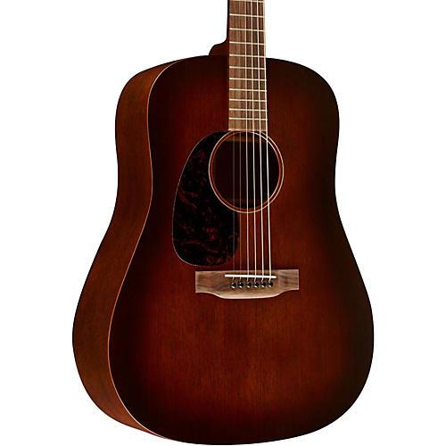 Martin 15 Series D-15M Dreadnought Left-Handed Acoustic Guitar-thumbnail