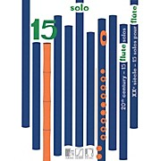 Durand 15 Solos for Flute from the 20th Century Editions Durand Series Softcover Composed by Various