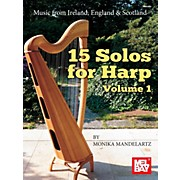 Mel Bay 15 Solos for Harp Volume 1