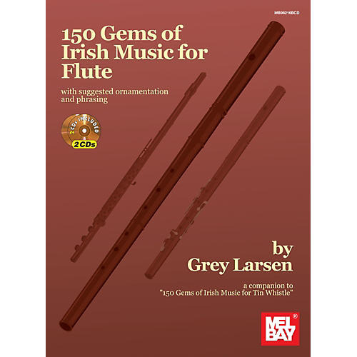 Mel Bay 150 Gems of Irish Music for Flute-thumbnail