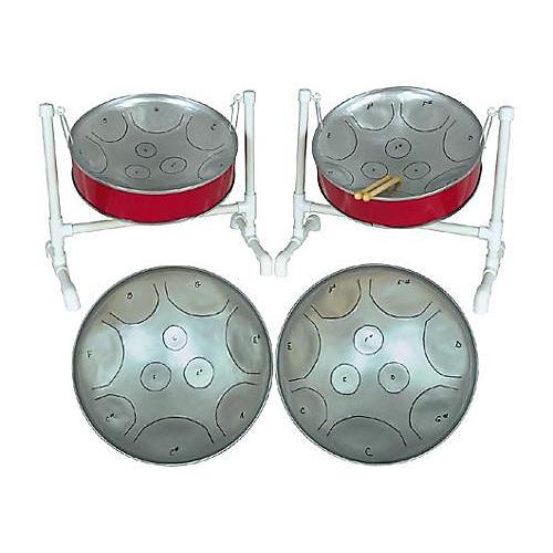 Fancy Pans 16DBL Double Mini Chromatic Steel Drum-thumbnail