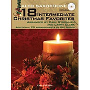 Carl Fischer 18 Intermediate Christmas Favorites - Alto Saxophone Book/CD