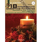 Carl Fischer 18 Intermediate Christmas Favorites - Clarinet Book/CD