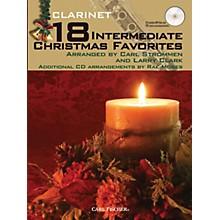 Carl Fischer 18 Intermediate Christmas Favorites - Clarinet Book/CD