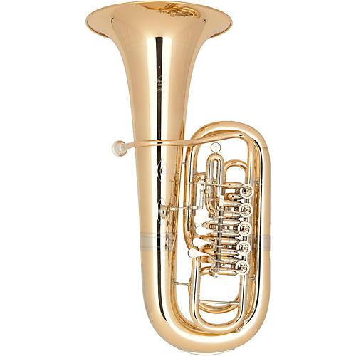 Miraphone 181 Belcanto Series 5-Valve 5/4 F Tuba Lacquer Gold Brass Body