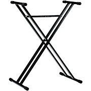 K&M 18963.071.55 X-Style Double Braced Keyboard Stand