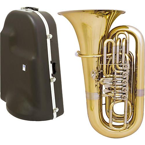 Miraphone 191 Series 4-Valve BBb Tuba with Hard Case-thumbnail