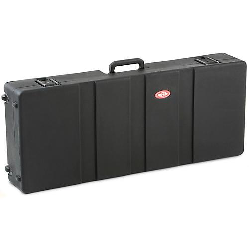 SKB 1SKB-R4215W Roto Molded 61-Note Keyboard Case Black