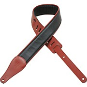 "Levy's 2 1/2"" Padded Garment Leather Strap"