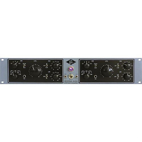 Universal Audio 2-610 Silverface Dual Channel Mic Pre-thumbnail