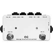 One Control 2-Channel White Loop Flash Switcher with True Bypass Pedal