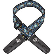 "Lock-It Straps 2"" Vintage Series Woven Patented Locking Technology Guitar Strap"