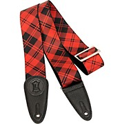 Levy's 2 in. Sublimation Plaid Guitar Strap