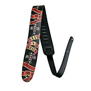 "Perri's 2.5"" High-Res Guns N' Roses Leather Guitar Strap"