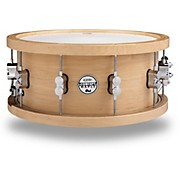 PDP 20-Ply Maple Snare with Wood Hoops and Chrome Hardware
