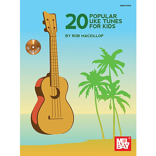 Mel Bay 20 Popular Uke Tunes For Kids-thumbnail