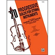 Alfred 20 Progressive Solos for String Instruments Piano Acc.
