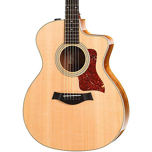 Taylor 200 Series 214ce Koa Deluxe Grand Auditorium Acoustic-Electric Guitar-thumbnail