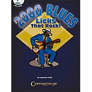 Centerstream Publishing 2000 Blues Licks That Rock Book/3CDs
