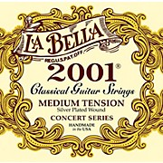 LaBella 2001 Medium Tension Classical Guitar Strings