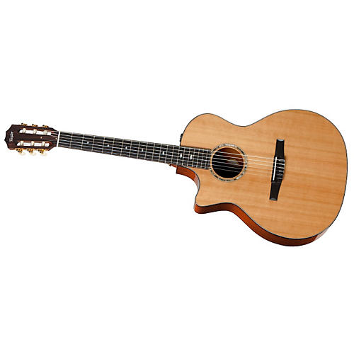 Taylor 2012 514ce-L Mahogany/Cedar Grand Auditorium Left-Handed Acoustic-Electric Guitar-thumbnail