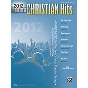 Alfred 2012 Greatest Christian Hits PVC Book