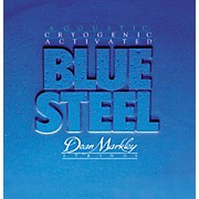 Dean Markley 2038 Blue Steel Cryogenic Medium Acoustic Guitar Strings