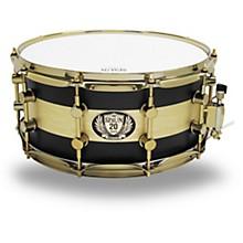 Spaun 20th Anniversary Brass Snare, 14 x 6.5 in.