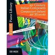 Ricordi 20th Century Italian Composers For Piano