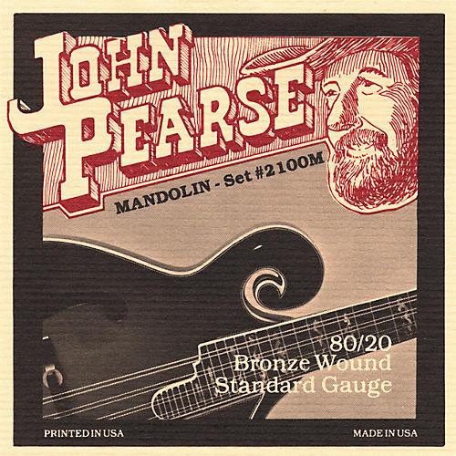John Pearse 2100S Standard Gauge Mandolin Strings-thumbnail