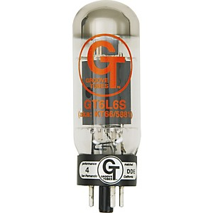 Groove Tubes Gold Series GT-6L6-S Matched Power Tubes High (8-10 GT Rating) Duet
