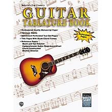 Alfred 21st Century Guitar Tablature Paper Book