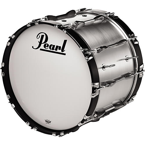 Pearl 22x14 Championship Series Marching Bass Drum Midnight Black