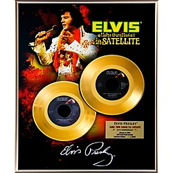 24 Kt. Gold Records Elvis Presley - Aloha From Hawaii 35th Anniversary Gold 45 Limited Edition of 2008 (AAJM213)