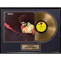 24 Kt. Gold Records Jimi Hendrix - Band of Gypsys Gold LP Limited Edition of 2500 (AALF115)